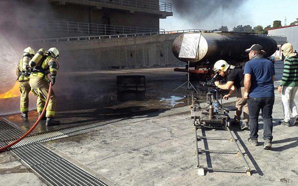 بازپخش حضور آتش نشانان در مسابقه شبکه یک