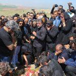 عارف لرستانی در زادگاهش به آغوش خاک سپرده شد