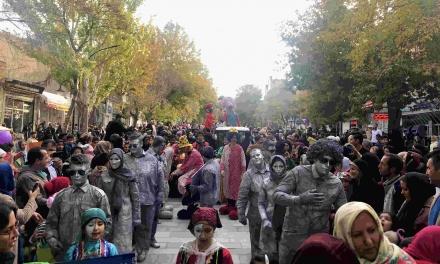 ببینید: کارناوال شادی جشنواره تئاتر کودک همدان