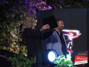 مریلا زارعی - مراسم نوزدهمین جشن خانه سینما
