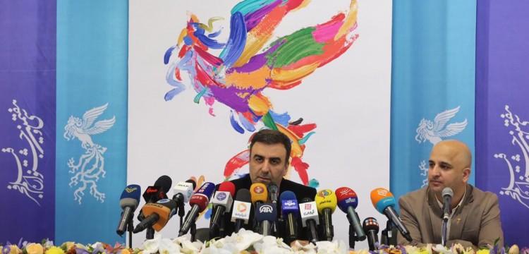 نشست خبری جشنواره فیلم فجر برگزار شد/ داروغهزاده: قوه قضاییه فیلمهای مشکوک را به ما معرفی کند