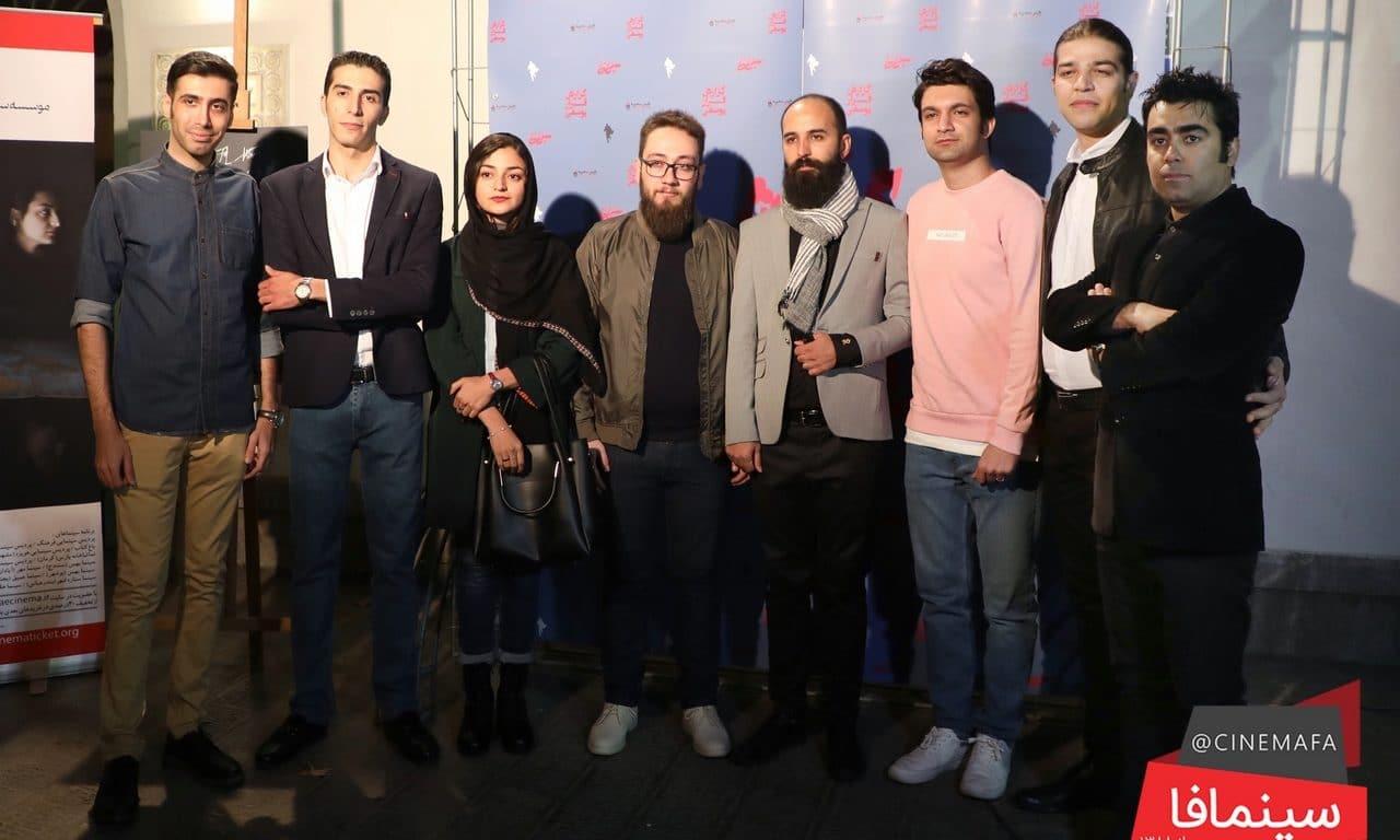 گزارش تصویری سینمافا از افتتاحیه فیلم «گزارش فرار یوسفی»