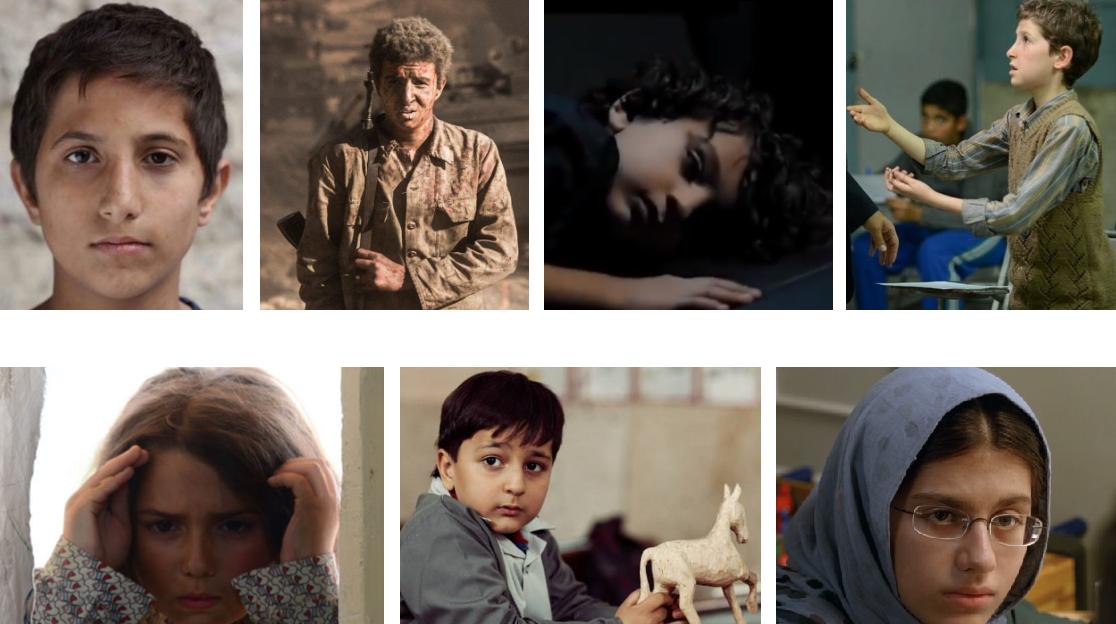 اهدای جایزه به بازیگران کودک و نوجوان
